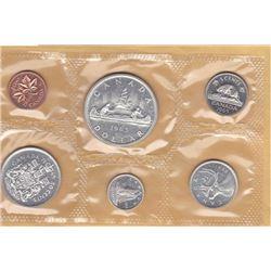 1965 Canada Coin Set