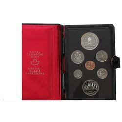 1977 Canada Coin Set