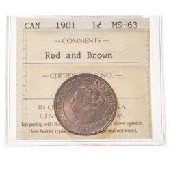 1901 Canada 1 Cent
