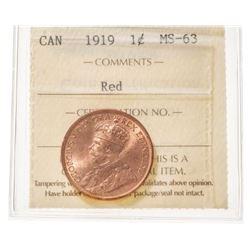 1919 Canada 1 Cent
