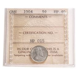 1904 Canada 5 Cent