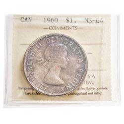 1960 Canada 1 Dollar