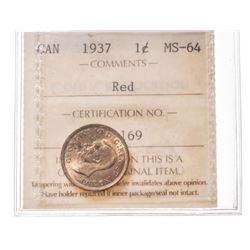 1937 Canada 1 Cent