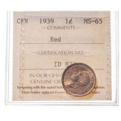 1939 Canada 1 Cent