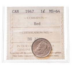 1947 Canada 1 Cent