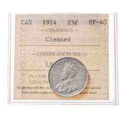 1914 Canada 25 Cent