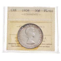 1958 Canada 50 Cent