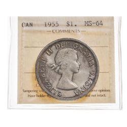 1955 Canada 1 Dollar