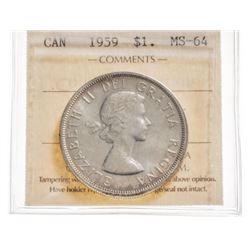 1959 Canada 1 Dollar