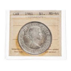 1961 Canada 1 Dollar