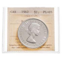1962 Canada 1 Dollar