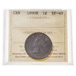 1890-H Canada 1 Cent