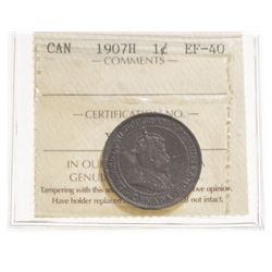 1907-H Canada 1 Cent