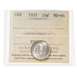1937 Canada 10 Cent