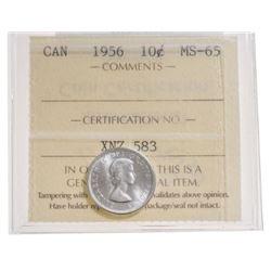 1956 Canada 10 Cent