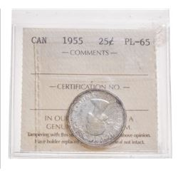 1955 Canada 25 Cent
