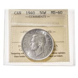 1940 Canada 50 Cent