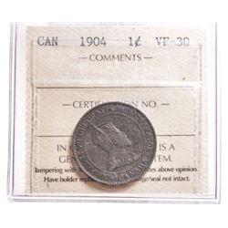 1904 Canada 1 Cent