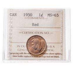 1950 Canada 1 Cent