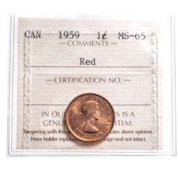 1959 Canada 1 Cent