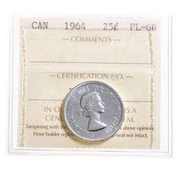 1964 Canada 25 Cent