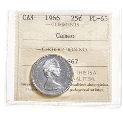 1966 Canada 25 Cent