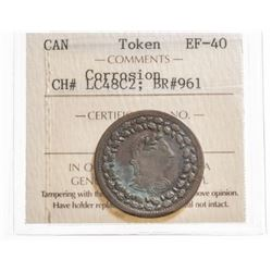 1812 Lower Canada 1/2 Penny Token
