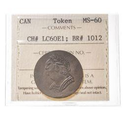 1820 Lower Canada Token