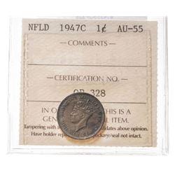 1947-C Newfoundland 1 Cent