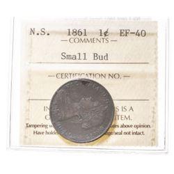 1861 Nova Scotia 1 Cent