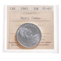 1965 Canada 50 Cent