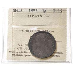 1885 Newfoundland 1 Cent
