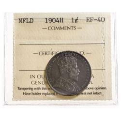 1904-H Newfoundland 1 Cent