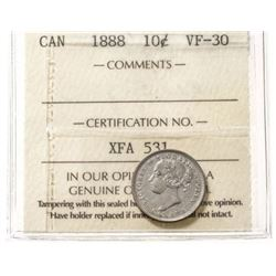 1888 Canada 10 Cent