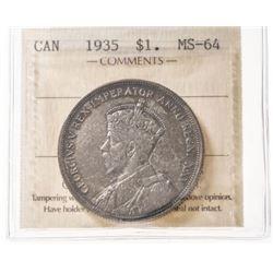 1935 Canada 1 Dollar