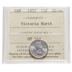 1957 Canada 10 Cent
