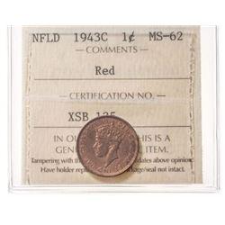 1943-C Newfoundland 1 Cent