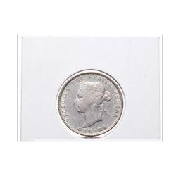 1872-H Canada 25 Cent