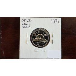 1971 Canada 5 Cent