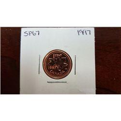 1997 Canada 1 Cent