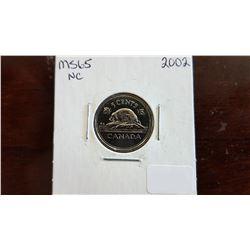 2002 Canada 5 Cent