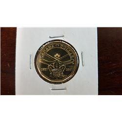 2017 Canada 1 Dollar