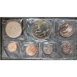 1980 New Zealand Coin Set