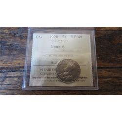 1926 Canada 5 Cent