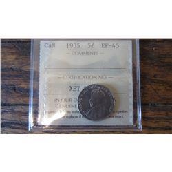 1935 Canada 5 Cent