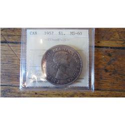 1957 Canada 1 Dollar