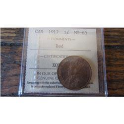1917 Canada 1 Cent