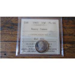 1965 Canada 10 Cent