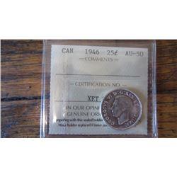 1946 Canada 25 Cent
