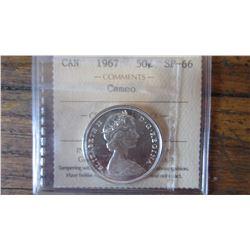 1967 Canada 50 Cent